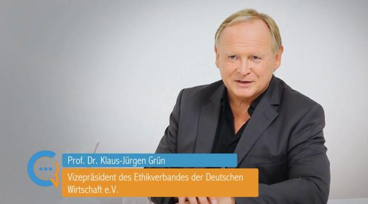 Testimonial Prof. Dr. Klaus-Jürgen Grün