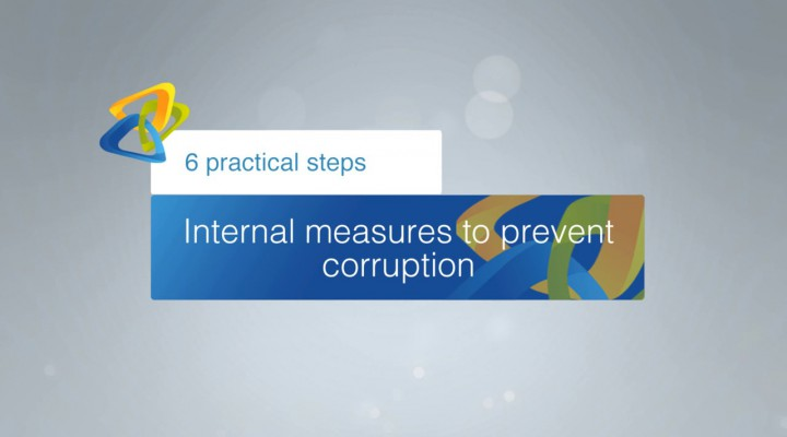 Internal measures to prevent corruption – 6 practical steps: Introduction