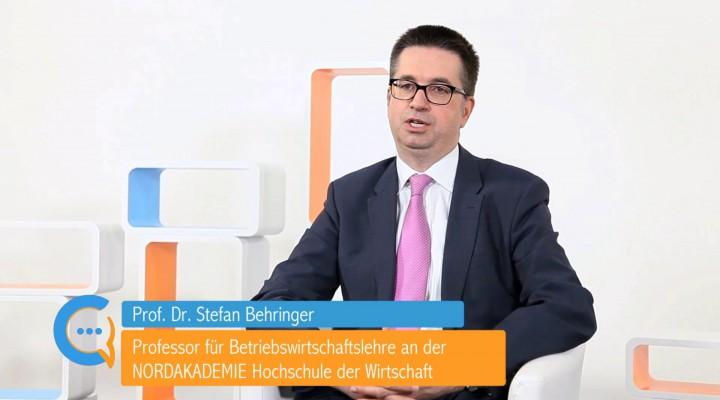 Testimonial Prof. Stefan Behringer