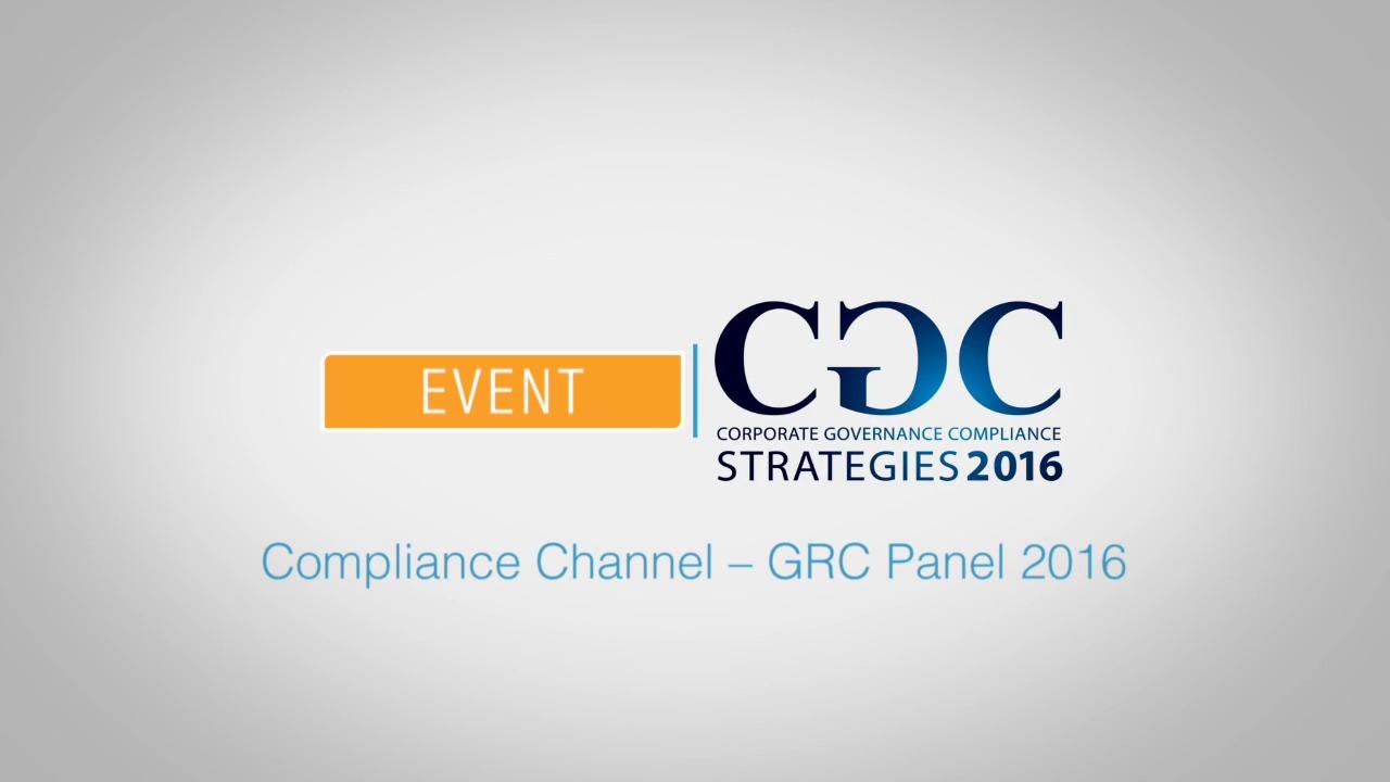 ComplianceChannelGRCPanel2016