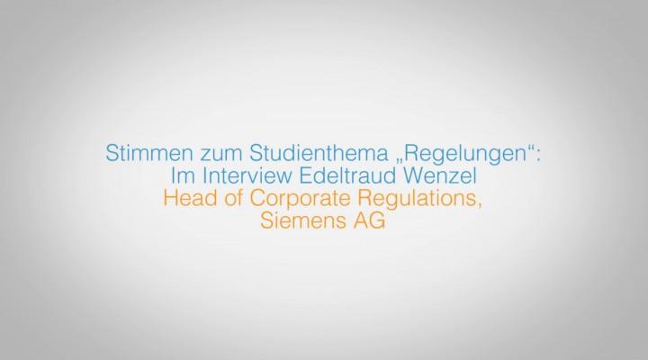 Stimmen zum Studienthema Regelungen – Teil 2 unseres Feature