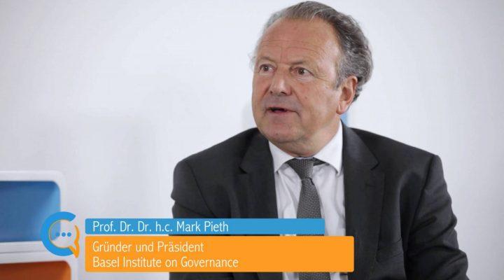 Testimonial Prof. Dr. Dr. h.c. Mark Pieth