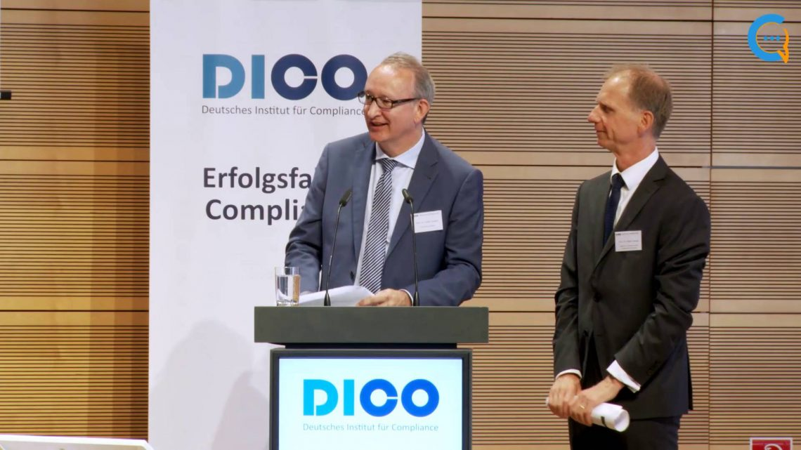 "Vorstellung des ""Compliance on Board Index"" auf dem DICO FORUM Compliance 2017"