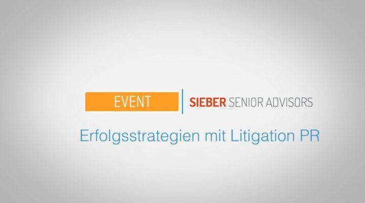 Erfolgsstrategien mit Litigation-PR