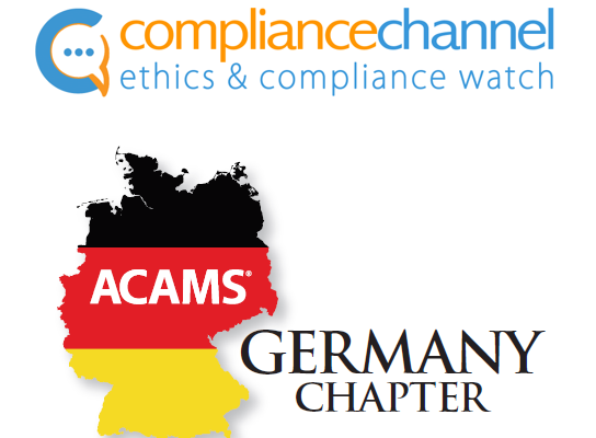 ACAMS Germany Chapter Event am 27. November 2019 über Innovationen im Anti-Financial Crime Bereich