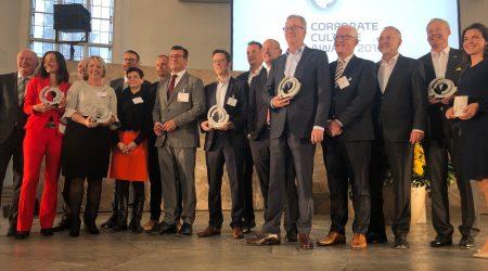 Die Gewinner des Corporate Culture Awards
