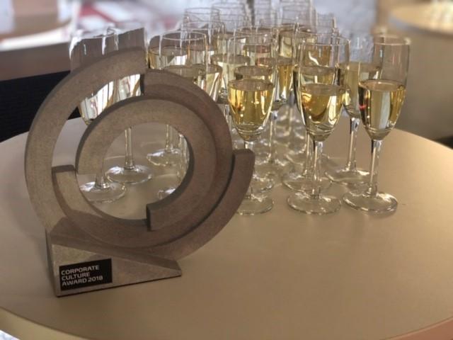 Auszeichnung Corporate Culture Award 2018