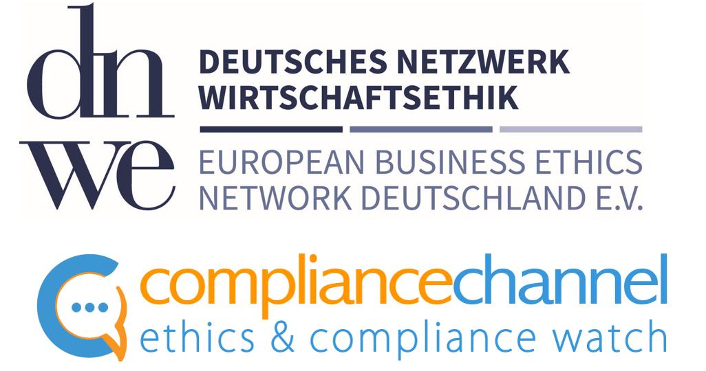 Zwei starke Partner in Sachen Ethik: Das Deutsche Netzwerk Wirtschaftsethik – EBEN Deutschland e. V. (DNWE) und der Compliance Channel vereinbaren Kooperation