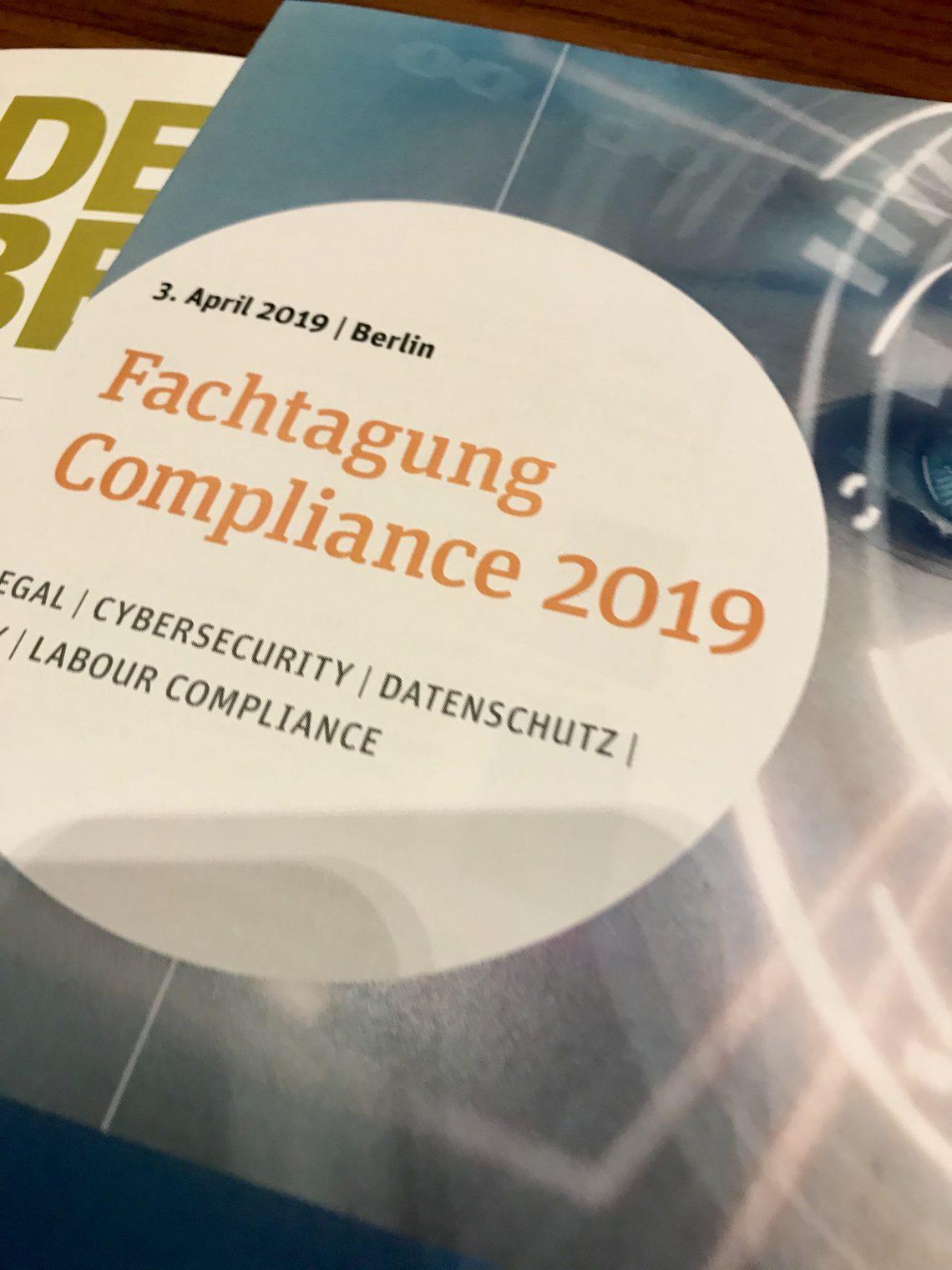 5. Fachtagung Compliance – von der Rucksackfunktion zu Compliance Tech 2030
