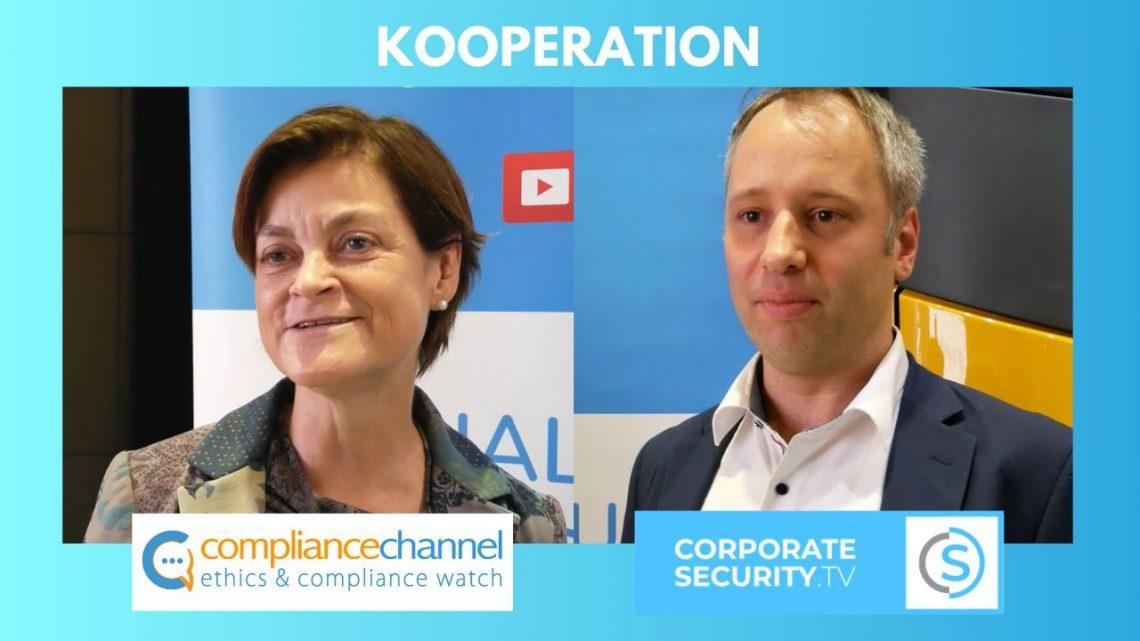 Die Web-TV Sender Compliance Channel und Corporate Security TV vereinbaren eine Kooperation