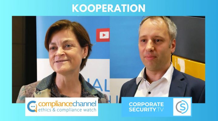 Die Web-TV Sender Compliance Channel und Corporate Security TV vereinbaren eine Kooperation