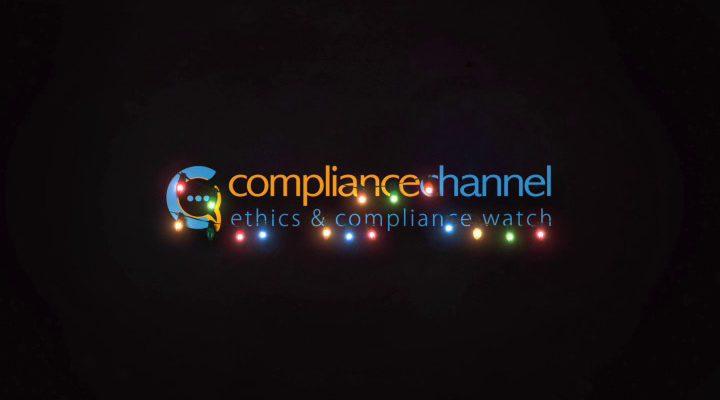 Frohe Weihnachtszeit und ein gutes Neues Jahr 2020 vom Compliance Channel!